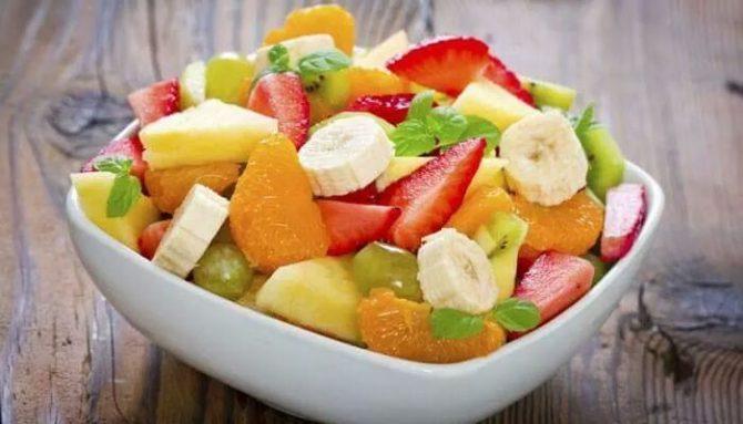 Chutný a osviežujúci ovocný šalát
