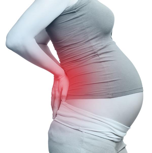 Bolesť chrbta v tehotenstve