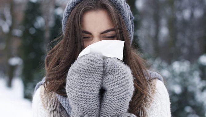 Alergia na zimu. Aké sú jej príznaky a čo to vlastne je?