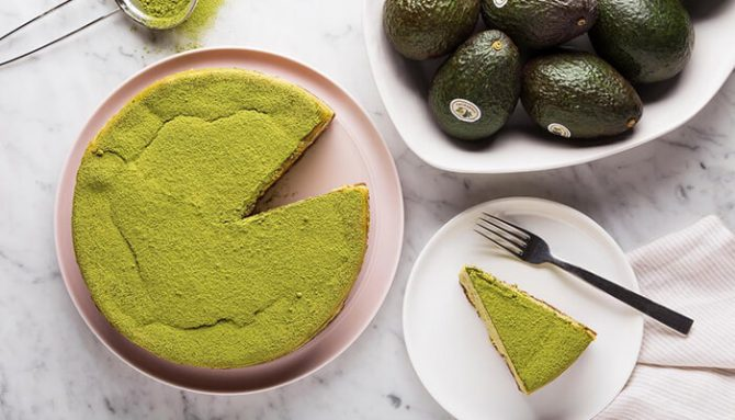 Fit cheescake s matcha čajom